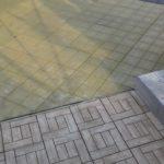 Укладка садового паркета