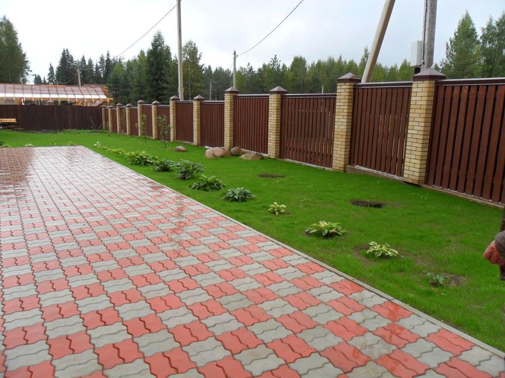 Тротуарная плитка в Ростове