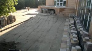 Укладка бетонной тротуарной плитки в Ростове
